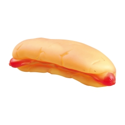 hot dog sifflet en vinyl 25x8.5x7cm