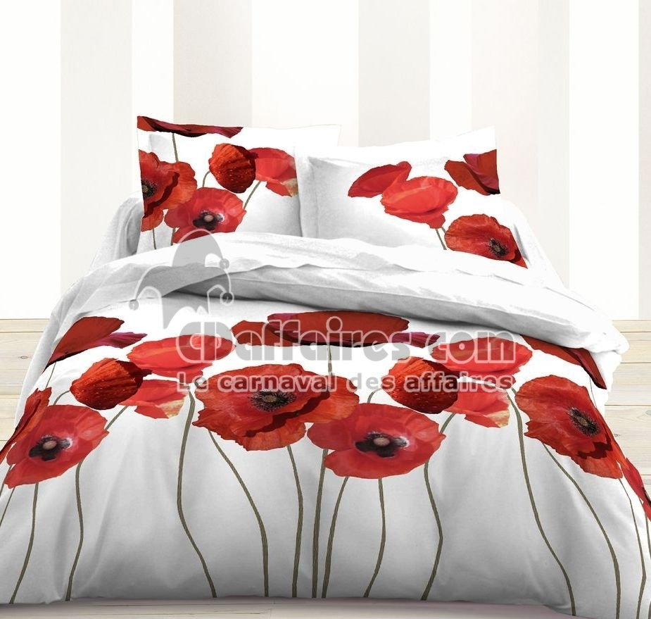 Description for Housse de couette coquelicot