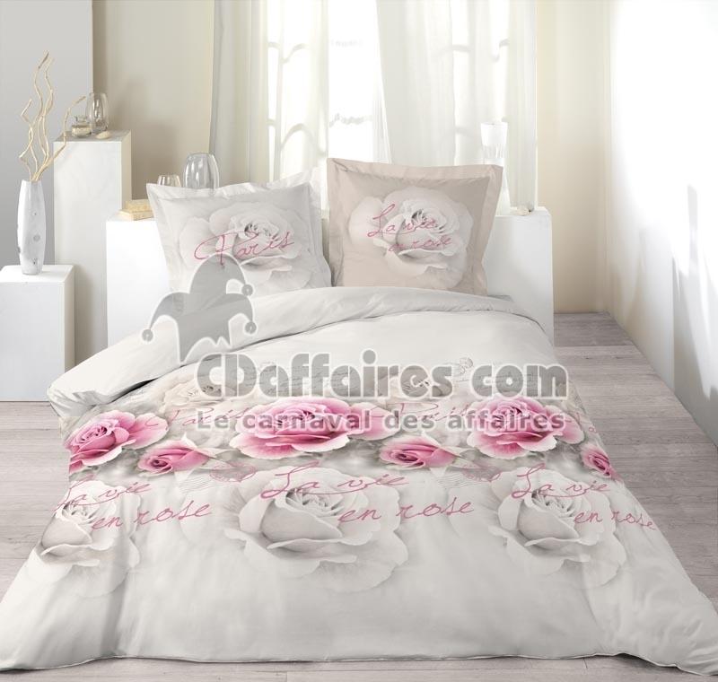 housse de couette 260x240 alinea. Black Bedroom Furniture Sets. Home Design Ideas
