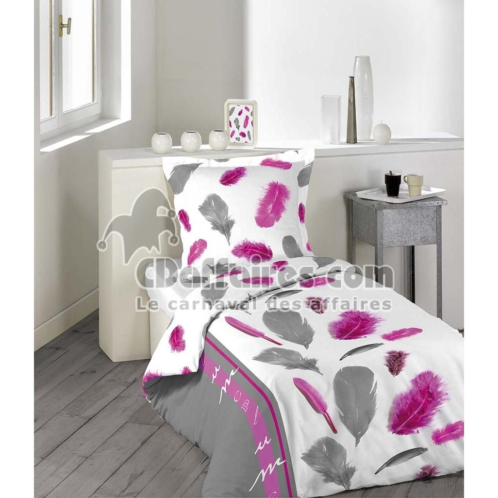 housse de couette enfant 140x200 cm microfibre dolce ebay. Black Bedroom Furniture Sets. Home Design Ideas