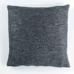Housse de coussin +encart 40 x 40 cm tricot metissia Anthracite