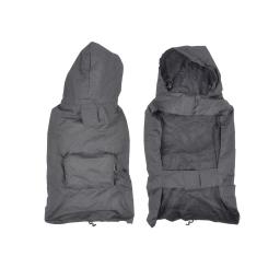 Impermeable avec capuche et poche L/40cm Gris