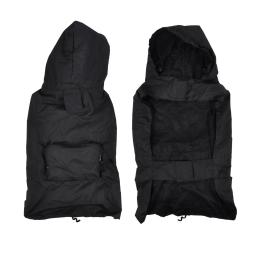 Impermeable avec capuche et poche S/30cm Noir