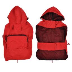 Impermeable avec capuche et poche XL/50cm Rouge