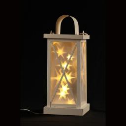 ip20/24v-lanterne 10 led-avec transfo-h30cm