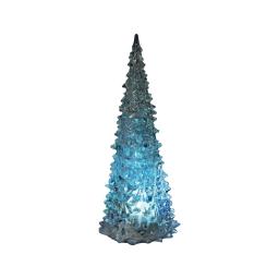 ip20/4,5v-sapin led lumineux-1 led changement couleur-a piles lr3-h23cm