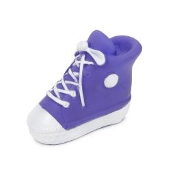jouet pour chien basket en vinyl h12.5*6*9.5cm coloris prune