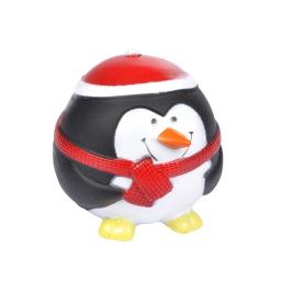 jouet pour chien pingouin en vinyl h.8.5*8*8.5cm