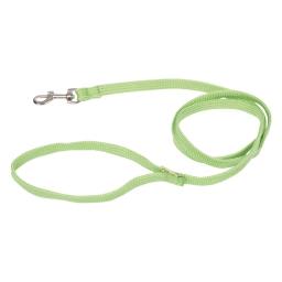 laisse couleur 120cm*largeur 9mm - vert anis