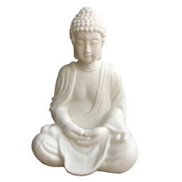 lampe bouddha assis 25.5*20*h37.5cm