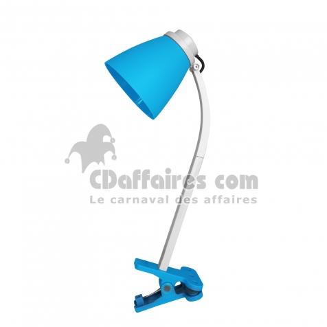 l De h Cdaffaires 6 20 Plastique L E14 Bureau Lampe Bleu Clip 9 36cm NnwOZPk80X