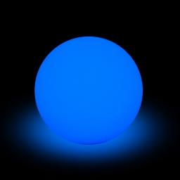 lampe solaire boule pe 8 led multicolore ø40cm