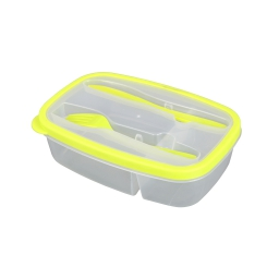 Lunch box +compartiments cous 1.45l 23 x 15 x 6 cm Vert