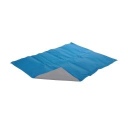 Matelas rafraichissant gel 65*50cm Bleu/gris