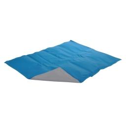 Matelas rafraichissant gel 90*50cm Bleu/gris