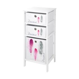 meuble 3 panieres 36*32*h76cm douceur d'interieur design poetique