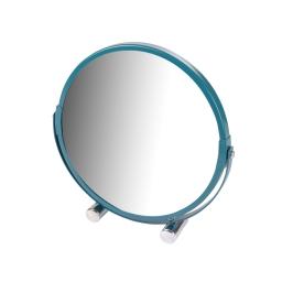 Miroir a poser grossissant x1/x3 metal vitamine bleu emeraude Bleu/emeraude