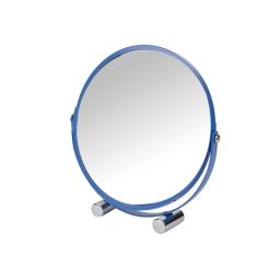 miroir a poser grossissant x1/x3 metal vitamine bleu roi
