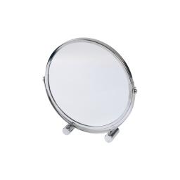 miroir a poser grossissant x1/x3 metal vitamine chromé