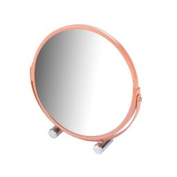 Miroir a poser grossissant x1/x3 metal vitamine Corail