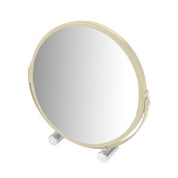 Miroir a poser grossissant x1/x3 metal vitamine Naturel