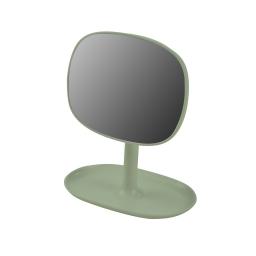 Miroir design plastique avec plateau bijoux vitamine Wasabi