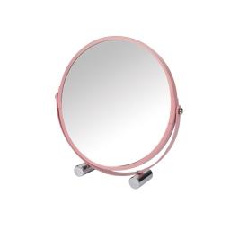 Miroir grossisant rose poudré  ø17cm douceur d'interieur theme vitamine Rose poudre