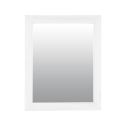 Miroir rectangulaire 40*1,5*h50cm Blanc
