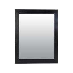 Miroir rectangulaire 40*1,5*h50cm Noir