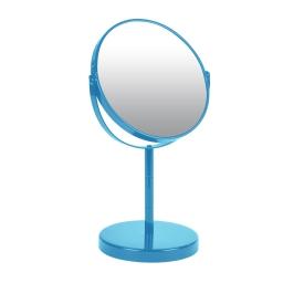 miroir sur pied grossissant x1/x2 metal vitamine bleu