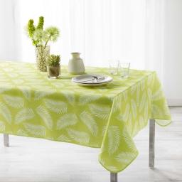 Nappe antitache 150 x 240 cm polyester imprime lifette Vert
