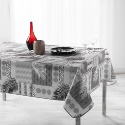 Nappe antitache 150 x 240 cm polyester imprime neha Noir