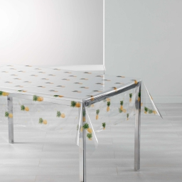 nappe cristal rectangle 140 x 240 cm pvc imprime 14/100e petinanas