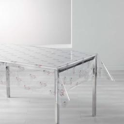 nappe cristal rectangle 140 x 240 cm pvc imprime 14/100e taos