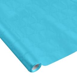 nappe damassee 1.18x5m - 40gr/m² - bleu