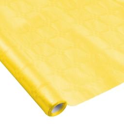 nappe damassee 1.18x5m - 40gr/m² - jaune
