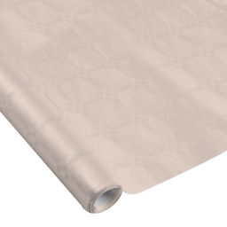 nappe damassee 1.18x5m - 40gr/m² - taupe