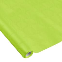 nappe damassee 1.18x5m - 40gr/m² - vert anis