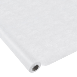 nappe effet tissu 1.20x10m - 50gr/m² - tissu tnt polypropylene 100% - blanc