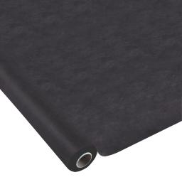 nappe effet tissu 1.20x10m - 50gr/m² - tissu tnt polypropylene 100% - noir