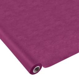 nappe effet tissu 1.20x10m - 50gr/m² - tissu tnt polypropylene 100% - prune