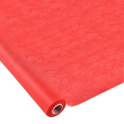 nappe effet tissu 1.20x10m  50gr/m² -tissu tnt polypropylene 100%- rouge vermeil