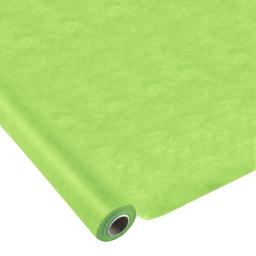 nappe effet tissu 1.20x10m - 50gr/m² - tissu tnt polypropylene 100% -  vert anis