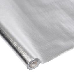 nappe impermeable pp 1.20m*5m*ø4.5cm - argent