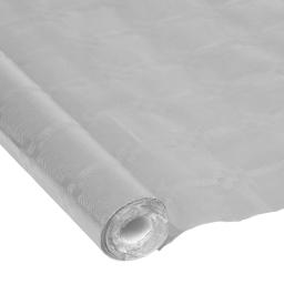 nappe papier damassé cristal 1.18*5m argent