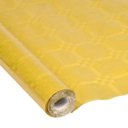 nappe papier damassé cristal 1.18*5m or