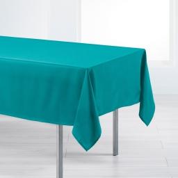 Nappe rectangle 140 x 200 cm polyester uni punchy Bleu