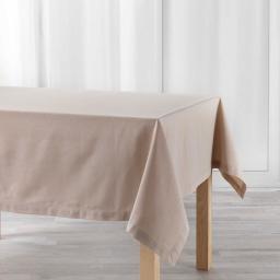 Nappe rectangle 140 x 240 cm coton uni Charline Lin