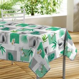 nappe rectangle 140 x 240 cm pvc imprime fliss