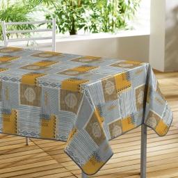 nappe rectangle 140 x 240 cm pvc imprime tazina